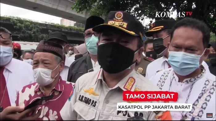 Kasatpol PP Jakarta Barat, Tamo Sijabat.