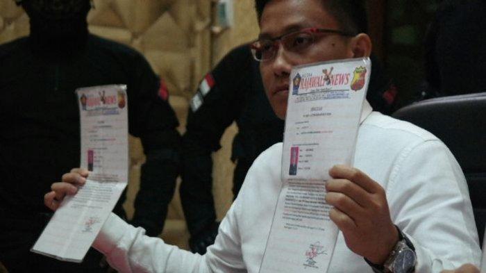 Empat Wartawan di Purwakarta Tertangkap Tangan Memeras Ibu Rumah Tangga