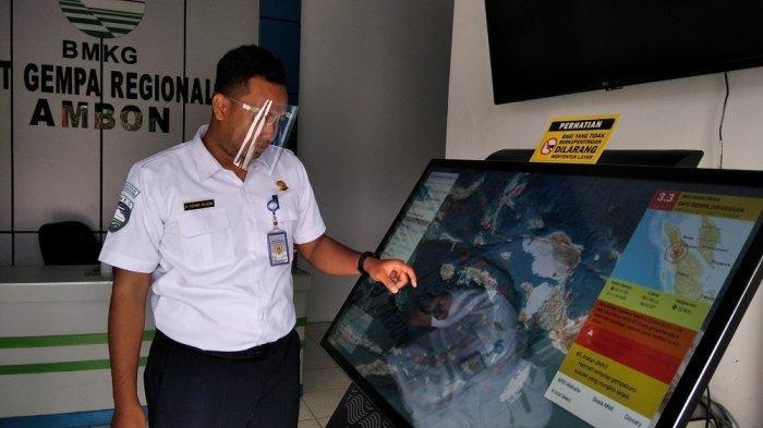 245 Gempa Guncang Maluku Selama November, Tidak Berdampak Kerusakan
