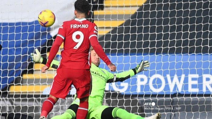 HASIL Babak I Burnley vs Liverpool Liga Inggris, Firmino Pemecah Kebuntuan, The Reds Unggul 0-1