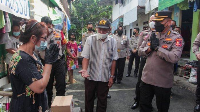 Sambut HUT Bhayangkara, Polri Salurkan Bantuan Untuk Buruh Lepas di Grogol