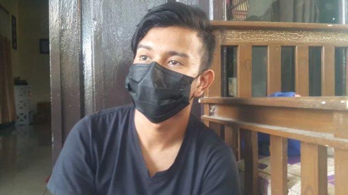 Muhammad Ramdanu (21), saksi yang sempat disebut memiliki akses keluar-masuk dari rumah korban prampasan nyawa di Subang.