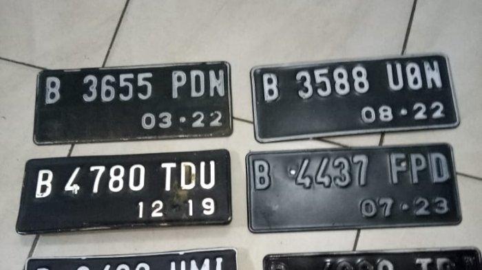 Begini Prosedur Urus Pelat Nomor Kendaraan yang Rusak di Samsat