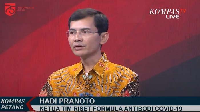 Kata Hadi Pranoto soal klaimn herbal untuk Covid-19 yang jadi kontroversi.