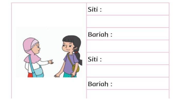 Kata Sapaan di Buku Tematik Tema 7 Kelas 2.2