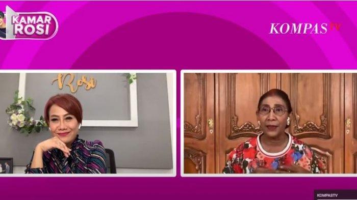 Mantan Menteri KKP Susi Pudjiastuti ungkap alasan soal cuitannya yang diduga mengajak netizen untuk unfollow Twitter Abu Janda pada program Kamar Rosi di YouTube Kompas TV, Selasa (9/2/2021).