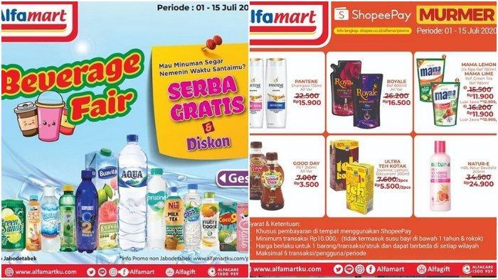 Promo Alfamart Periode 1 15 Juli 2020 Bisa Bayar Pakai Shopeepay Syarat Dan Ketentuan Berlaku Halaman All Tribunnews Com Mobile