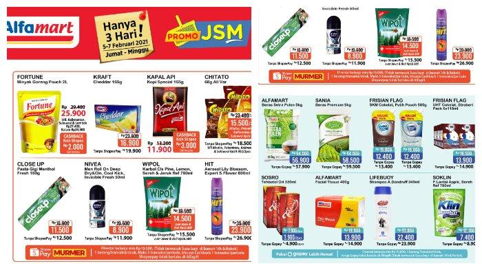 Katalog Promo JSM Alfamart Periode 5-7 Februari 2021.