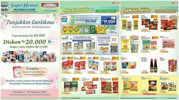 Katalog Promo Indomaret Terbaru 3-9 Februari 2021, Ada Promo Hemat Makanan hingga Minuman