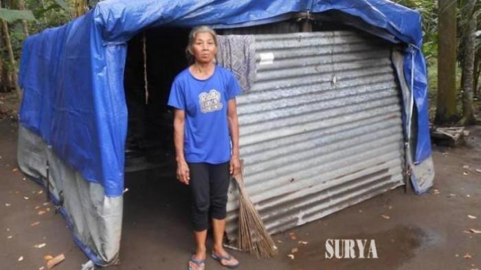 Daripada Dimadu, Kati Pilih Melarat Tinggal Sendiri di Gubuk Tenda