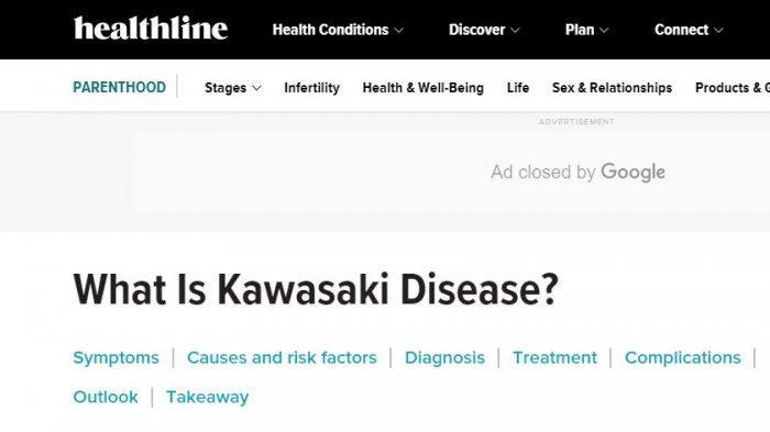 Penjelasan Kawasaki Disease