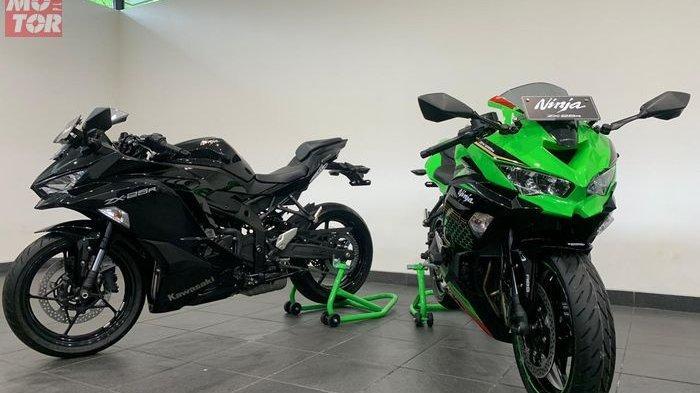 Kawasaki Ninja 250 Zx25r Rilis Di Indonesia Ini Harga Cicilan Dan Fitur Motor 4 Silinder Tribunnews Com Mobile