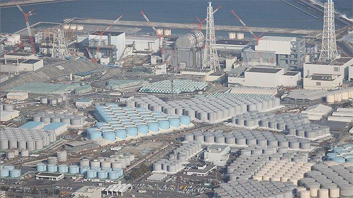 Kawasan pembangkit nuklir Daiichi di Fukushima.