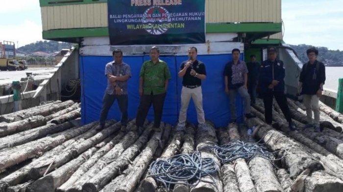 Kayu Dari Cagar Alam Gagal Edar di Pulau Madura