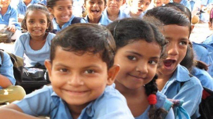 Program Makan Siang di Sekolah Terbesar di Dunia