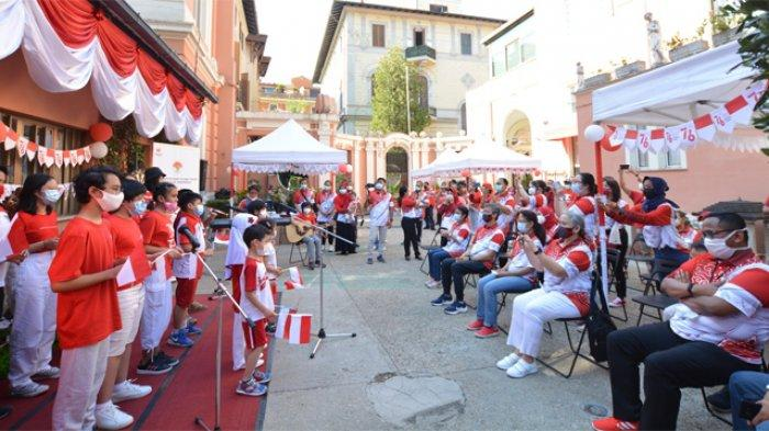 Mengintip Kemeriahan Peringatan Hari Anak Nasional di Italia Jelang HUT Ke-76 RI