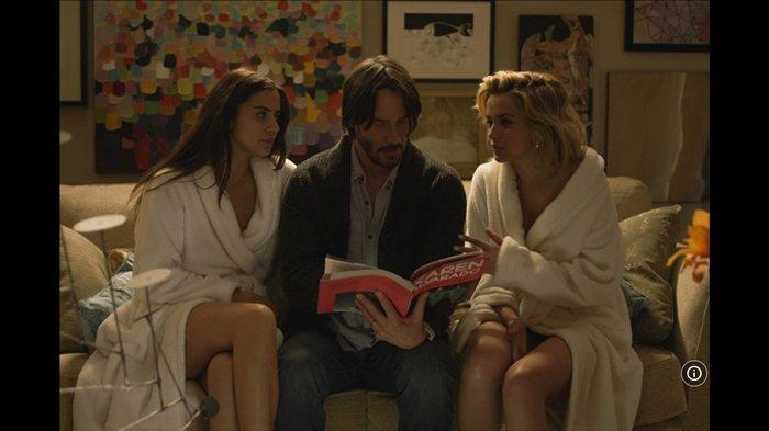 Sinopsis Knock Knock, Kisah 2 Gadis Menjebak Keanu Reeves di Rumahnya Tayang Malam Ini di Trans TV