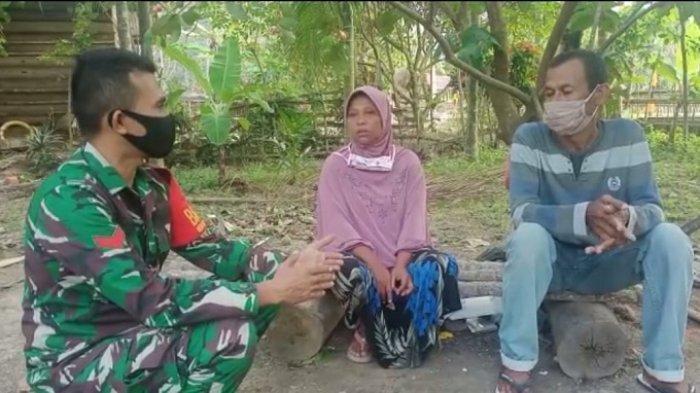 Kebahagian Buruh Cuci, Putranya Jadi Prajurit TNI, Tak Ingin Kaya, Hanya Berharap Kesuksesan Anak