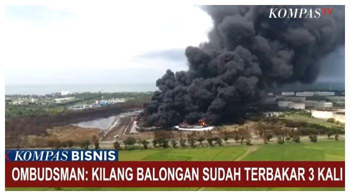 Ternyata Pertamina di Balongan Indramayu Sudah 3 Kali Terbakar, Ombudsman: Jangan Sampai Terjadi yang Ke4