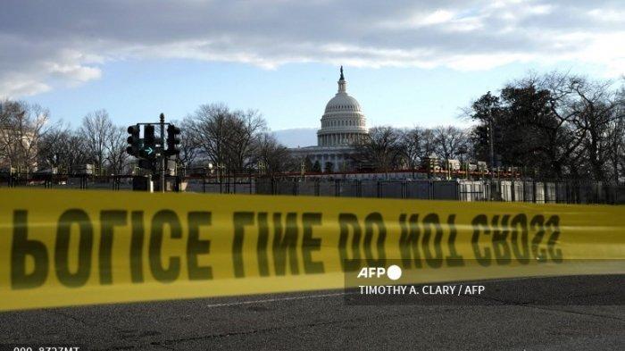 Ada Kebakaran di Dekat Capitol AS, Gladi Bersih Pelantikan Joe Biden Dihentikan, Peserta Dievakuasi