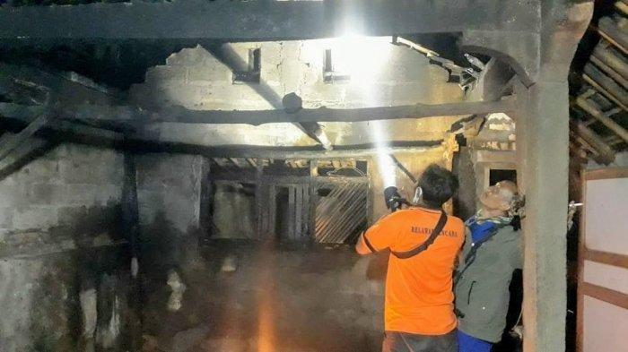 Tinggalkan Tungku Menyala, Dapur Rumah Warga Gunungkidul Habis Terbakar, Kerugian Capai Rp 10 Juta