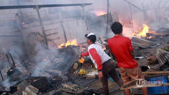 Kebakaran di Tanah Abang Hanguskan 174 Lapak, Kerugian Ditaksir Rp 1 Miliar
