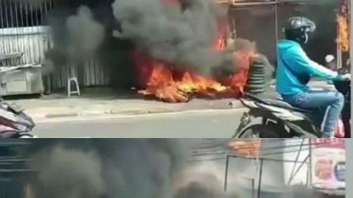Kebakaran Terjadi di Medan Satria Bekasi, Dua Rumah dan Tiga Ruko Hangus Dilalap Api