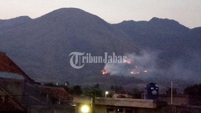 89 Hektare Lahan Rusak Terdampak Kebakaran Gunung Guntur