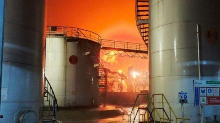 Pertamina Berhasil Kendalikan Kebakaran di Satu Tangki Benzene di Area Kilang Cilacap