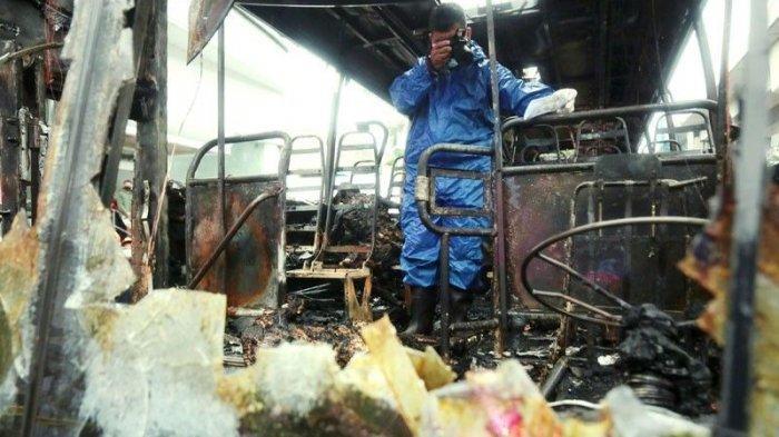 2 Orang Tewas dalam Kebakaran Bus di Filipina, Bermula dari Penumpang Siram Bensin ke Kondektur