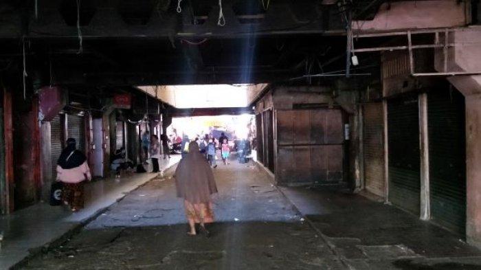 Situasi Ratusan Kios Pasar Minggu Setelah Dilanda Kebakaran