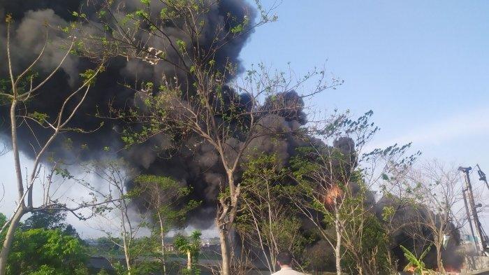 Kebakaran Pipa Minyak Pertamina Mengakibatkan  Satu Pekerja Proyek Kereta Cepat Tewas