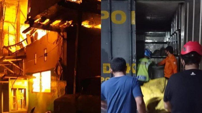 Kebakaran di Makassar Menewaskan 1 Orang