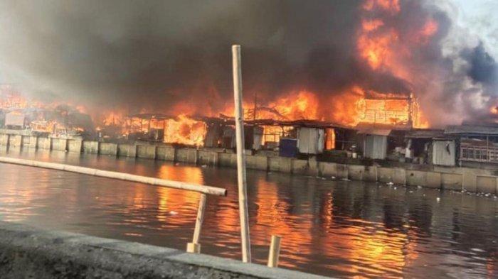 kebakaran  Teluk Gong RW 08