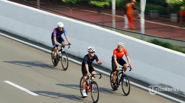 Uji Coba Jalur Road Bike di JLNT, Dishub DKI Klaim Penggunanya Naik Setiap Pekan