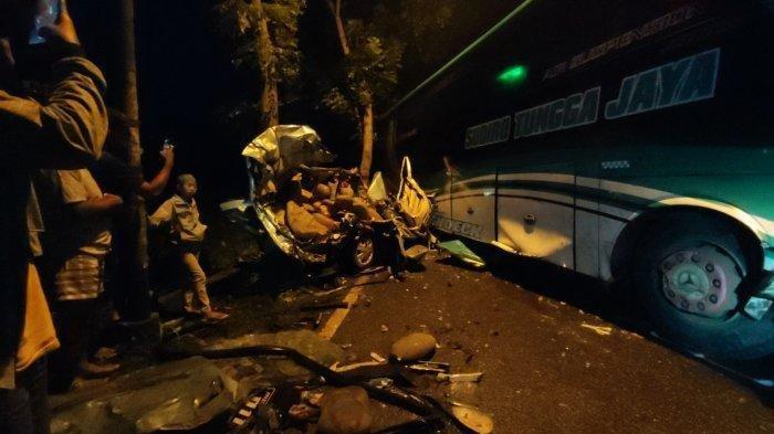 Kecelakaan Karambol di Banyumas Malam Ini, Libatkan 4 Kendaraan