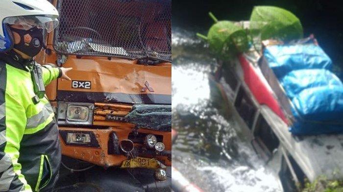 Bus Masuk Jurang dalam Kecelakaan Maut di Lembah Anai, Diduga Ada Truk Alami Rem Blong