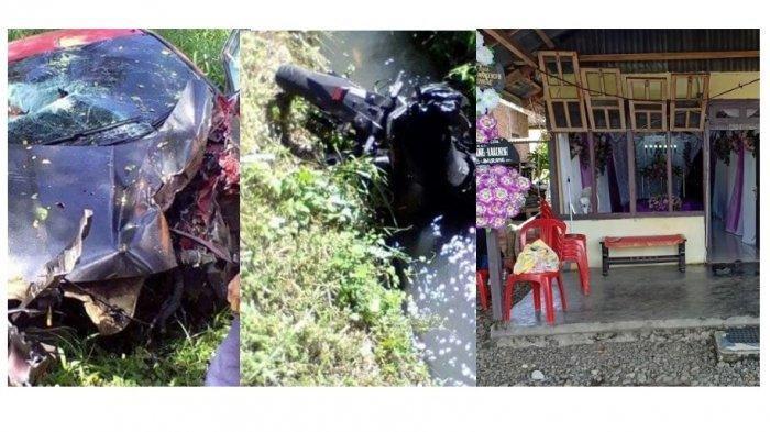 Fakta Kecelakaan yang Tewaskan Pasutri di Minahasa, saat Kejadian akan Ambil STNK Motor Barunya