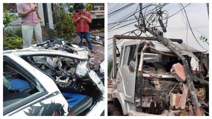 Kronologi Kecelakaan Beruntun di Pasuruan, Rem Blong Truk Tabrak 1 Motor 3 Mobil, 7 Orang Tewas