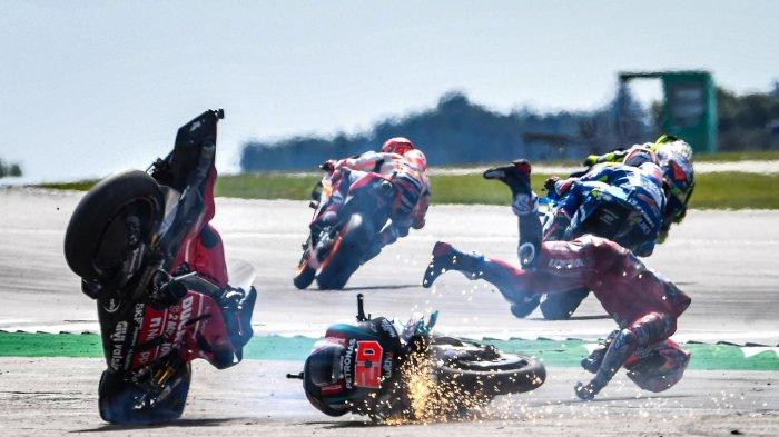 Manajer Ducati Team, Davide Tardozzi tak menyalahkan Fabio Quartararo atas kecelakaan hebat yang dialami Andrea Dovizioso di MotoGP Inggris 2019