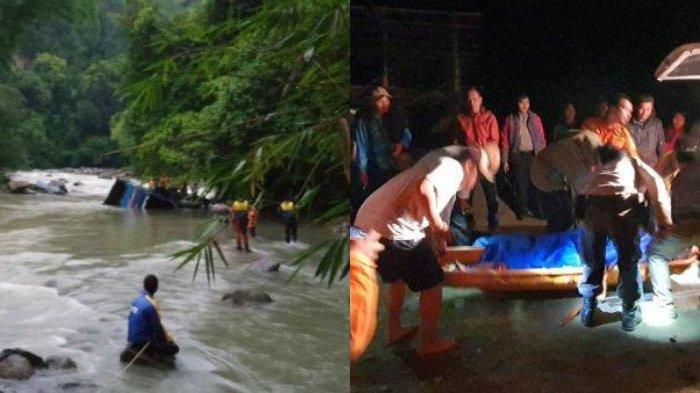 26 Orang Tewas Dalam Kecelakaan di Sumatera, Bus Sriwijaya Terjun Bebas ke Jurang Sedalam 80meter