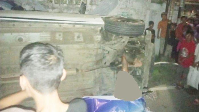 Kecelakaan maut di Panjang Bandar Lampung, seorang pria ditabrak mobil aa