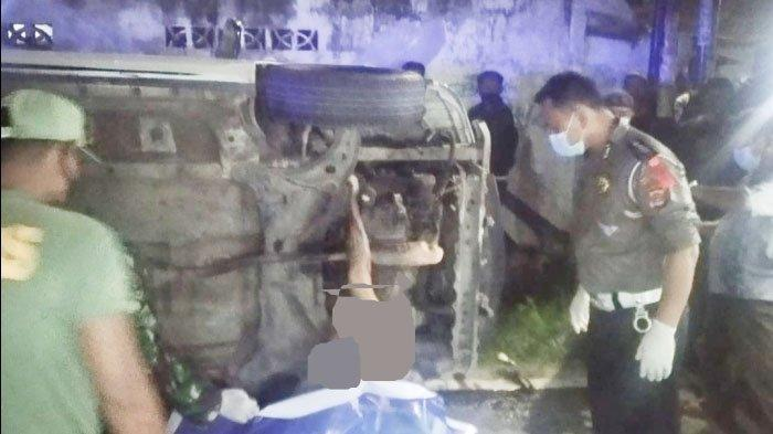 Tragis, Pemuda Tewas Terseret Mobil Hingga 8 Km di Lampung, Pelaku Kabur Tinggalkan Kendaraannya