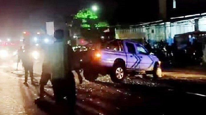 Tabrakan Mobil Xenia dan Xpander di Sragen, 3 Orang Tewas