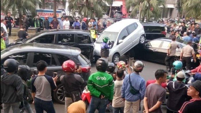 Pengakuan Sopir Truk Terkait Tabrakan Beruntun di Bintaro: Mengantuk dan Hindari Macet di Tol