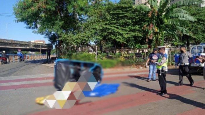 Tabrakan Bajaj dan TransJakarta di Jakarta Utara, Korban Bawa Bantal dan Tewas di Tempat Kejadian