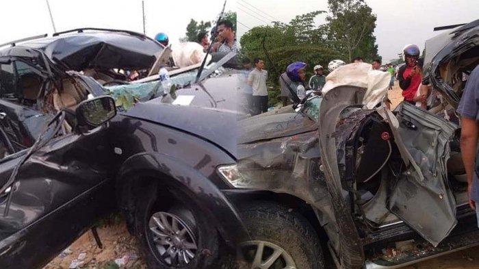 Hendak Hampiri Ayah di RS, Mahasiswa Pengemudi Pajero Tewas Tabrak Pohon di Kampar