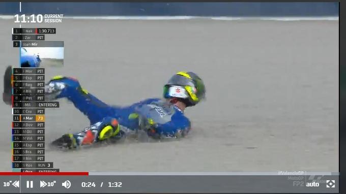 Hasil FP2 MotoGP Valencia: Kecelakaan Joan Mir Warnai Dominasi Ducati, Jack Miller Tercepat