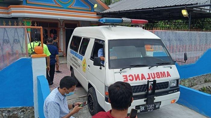 Kediaman Anggota DPRD Pematangsiantar Alex Panjaitan yang meninggal d