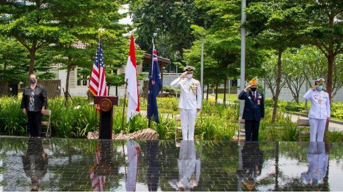 AS Peringati Tragedi Pertempuran Selat Sunda